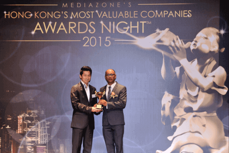 XGATE awarded 'HONG KONG'S MOST VALUABLE COMPANIES 2015' from Mediazone Group