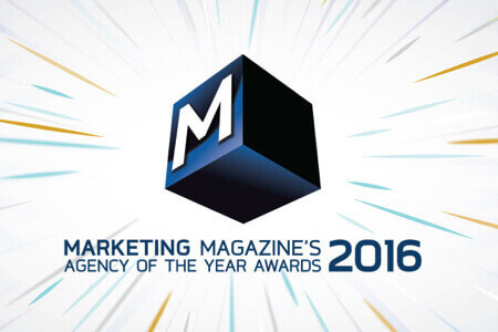 XGATE Awarded Finalist In Marketing Magazine's Agency of the Year 2016