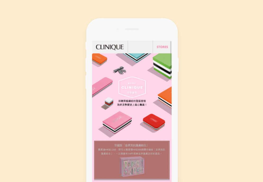 eCommerce Marketing Clinique